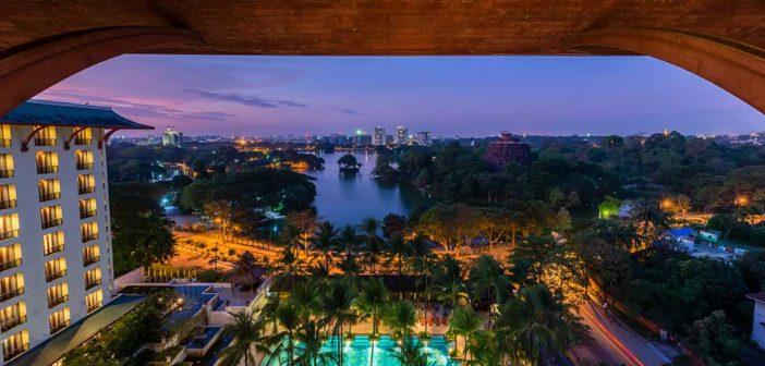 Let's Stay, Chatrium Hotel Royal Lake Yangon, Myanmar