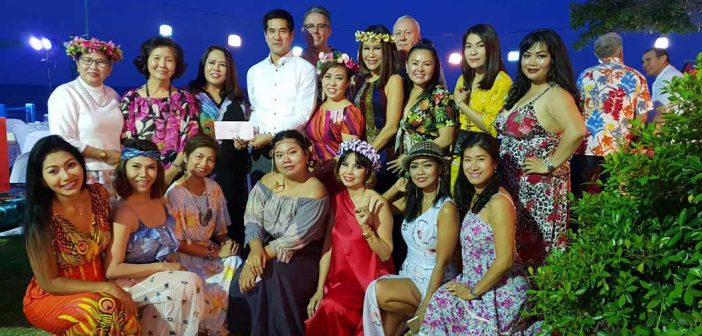 Khun Tuu, President of Hua Hin's Womens Club Celebrates Birthday With Friends