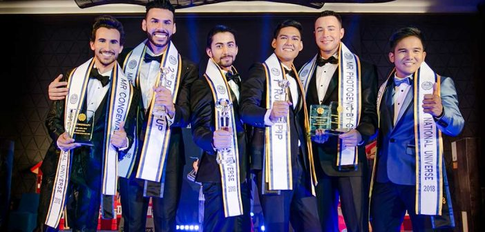 Mister National Universe 2018 Takes Place in Hua Hin