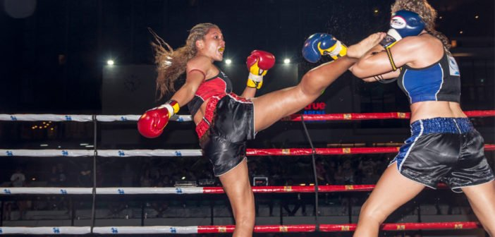 Women's Muay Thai World Championship at True Arena Hua Hin