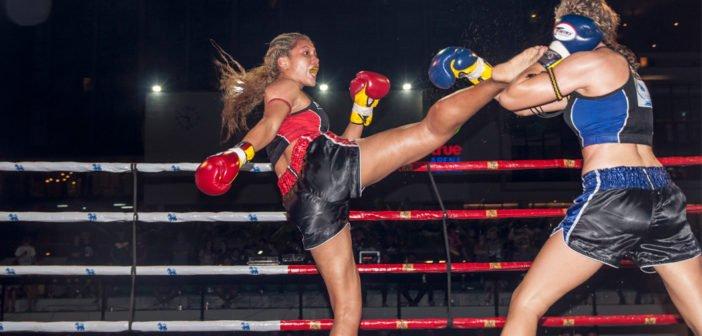 Women's Muay Thai World Championship at True Arena Hua Hin